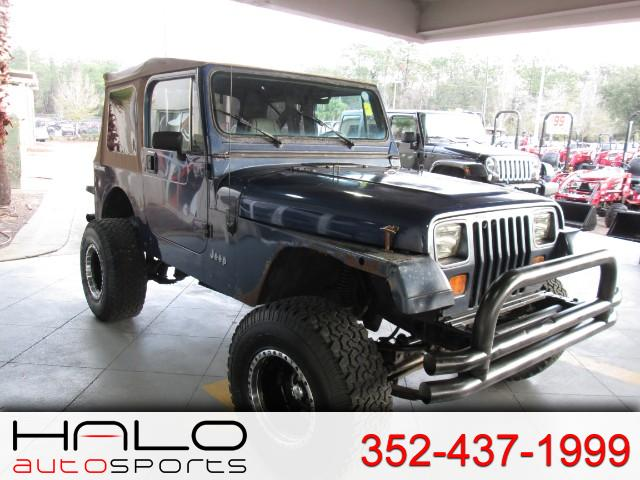 1991 Jeep Wrangler Soft Top