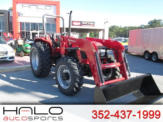 2018 Mahindra 5570 4WD Shuttle FRONT END LOADER