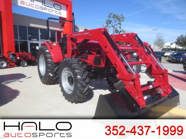 2016 Mahindra mPOWER 85 T4 ROPS Ag Tires SKLDR