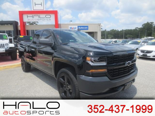 2016 Chevrolet Silverado 1500 LS DOUBLE CAB 4X4- 20INCH BLACK WHEELS