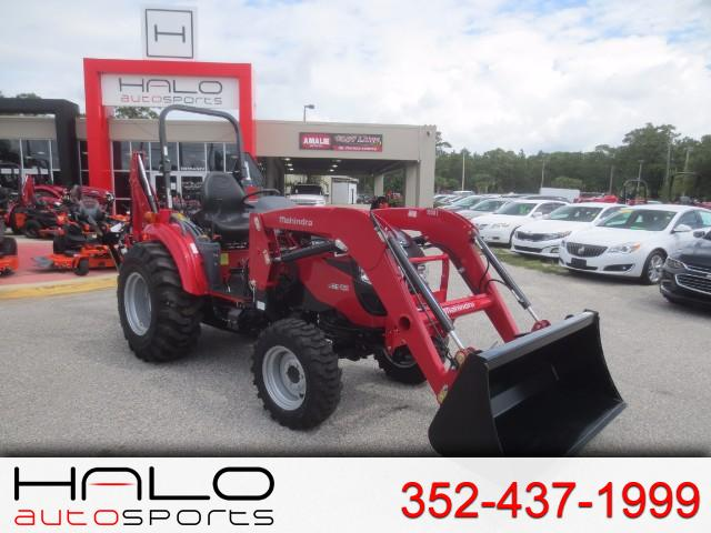 2017 Mahindra 1538 Shuttle FRONT END LOADER & BACKHOE