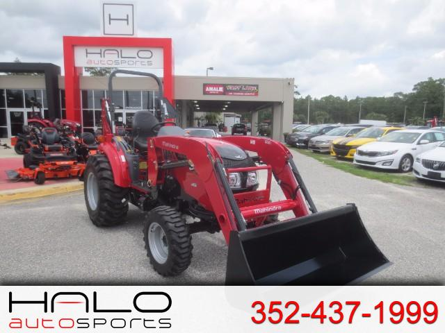 2017 Mahindra 1538 Shuttle LOADER AND BACKHOE