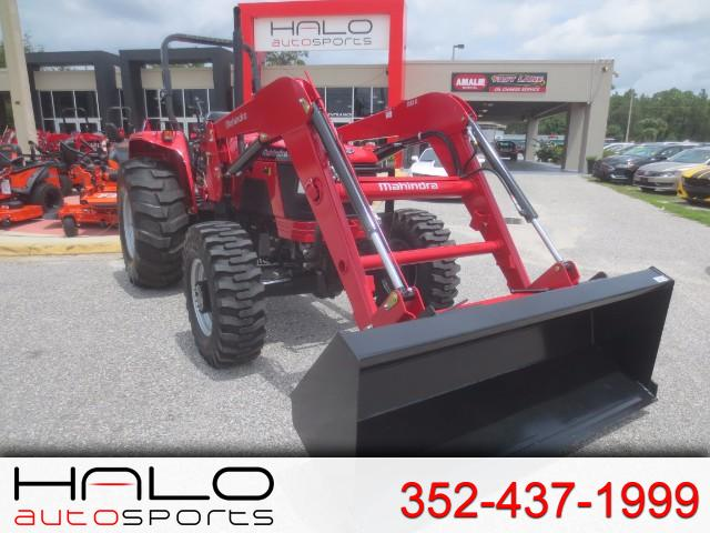 2017 Mahindra 5570 4WD Shuttle LOADER