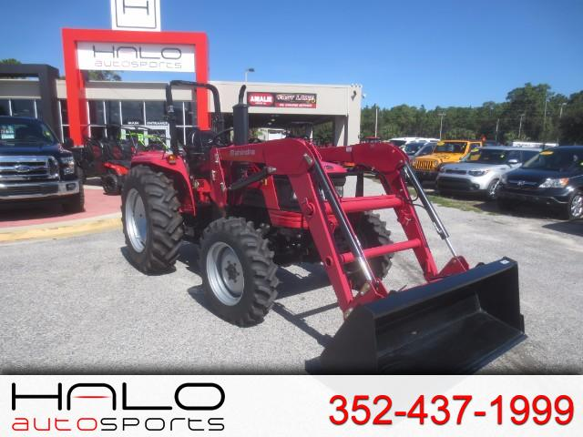 2015 Mahindra 5545 4WD Shuttle FRONT END LOADER