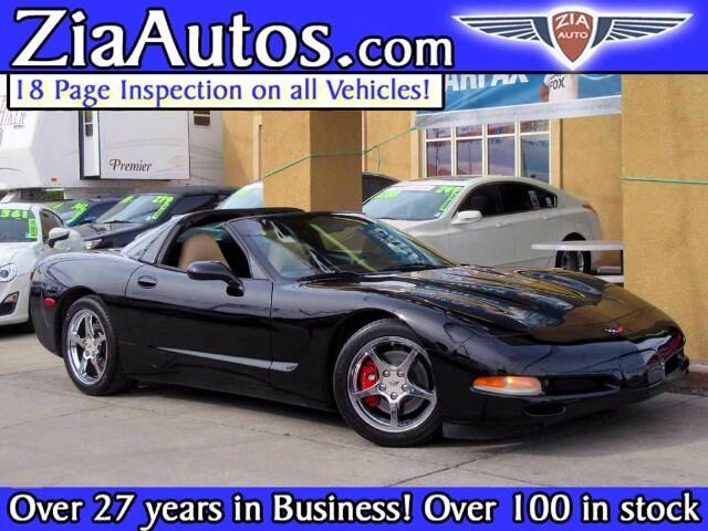 2004 Chevrolet Corvette 2dr Cpe w/1LT