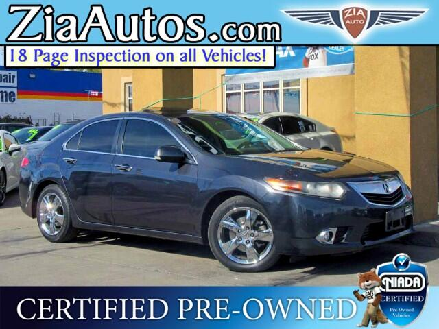 2012 Acura TSX 4dr Sdn AT