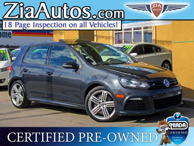 2013 Volkswagen Golf R 4 Door w/Sunroof & Nav
