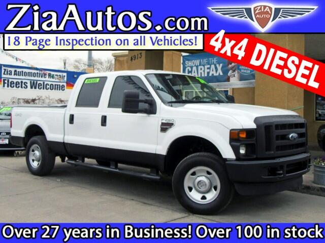 2008 Ford F-250 SD XL Crew Cab Long Bed 4WD