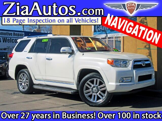 2010 Toyota 4Runner 4dr Limited V6 Auto 4WD