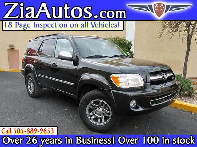 2007 Toyota Sequoia Limited 2WD