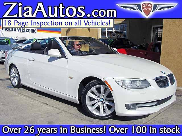2012 BMW 3-Series 328i Convertible - SULEV