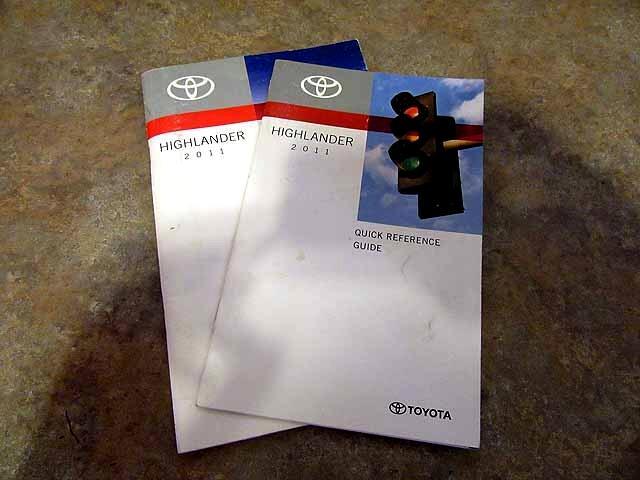 2011 Toyota Highlander Sport 2WD