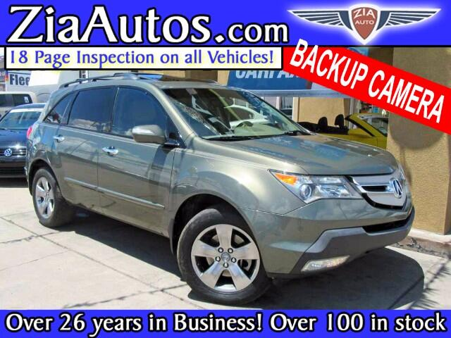 2007 Acura MDX Touring with Navigation System and Rear DVD System
