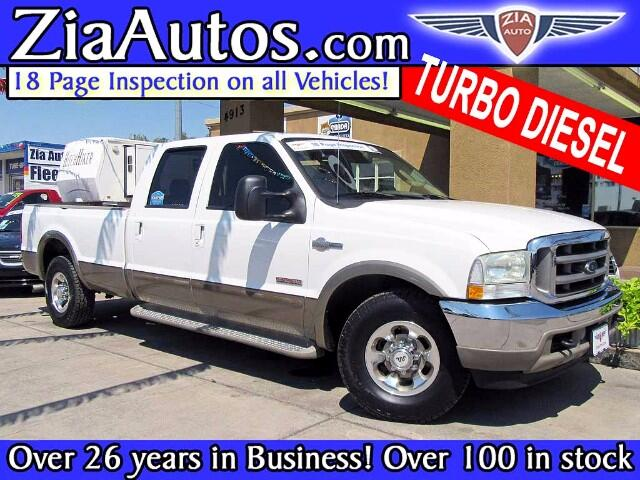 2004 Ford F-250 SD King Ranch Crew Cab Long Bed 2WD