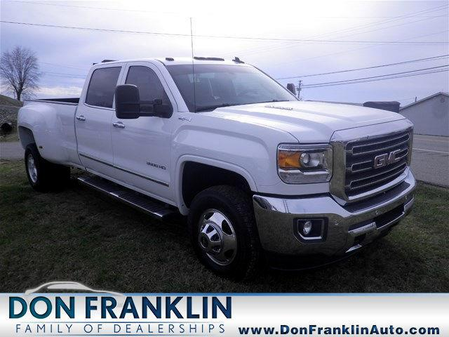2015 GMC Sierra 3500HD SLT Crew Cab Long Box 4WD