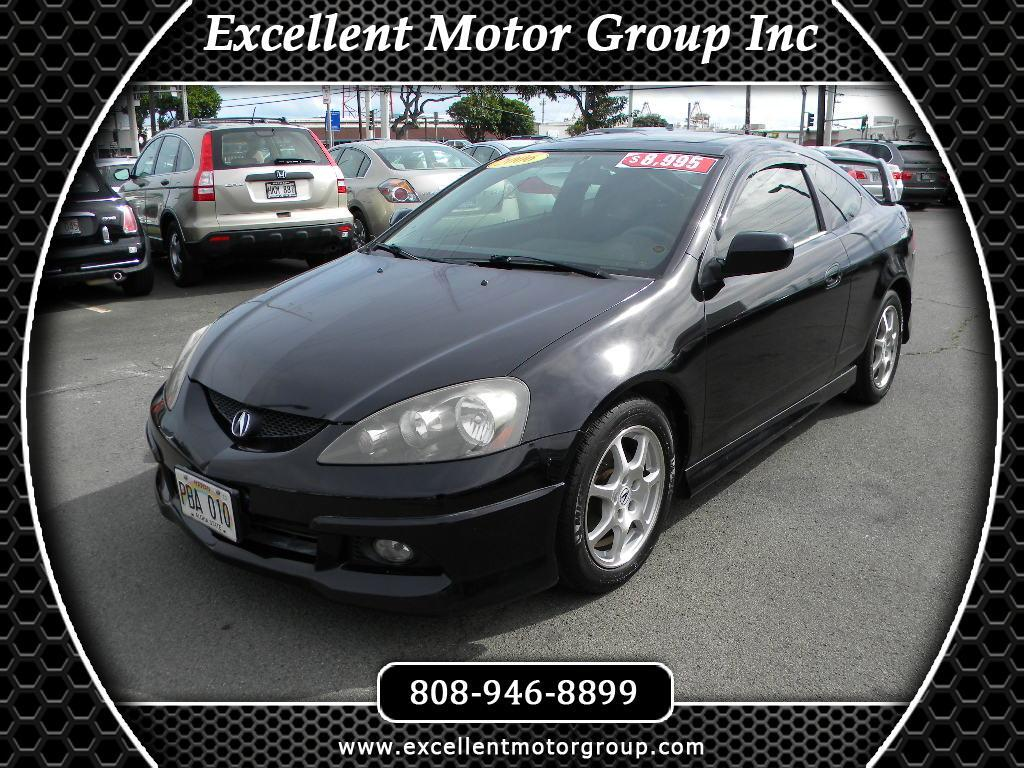 2006 Acura RSX Coupe with 5-speed AT