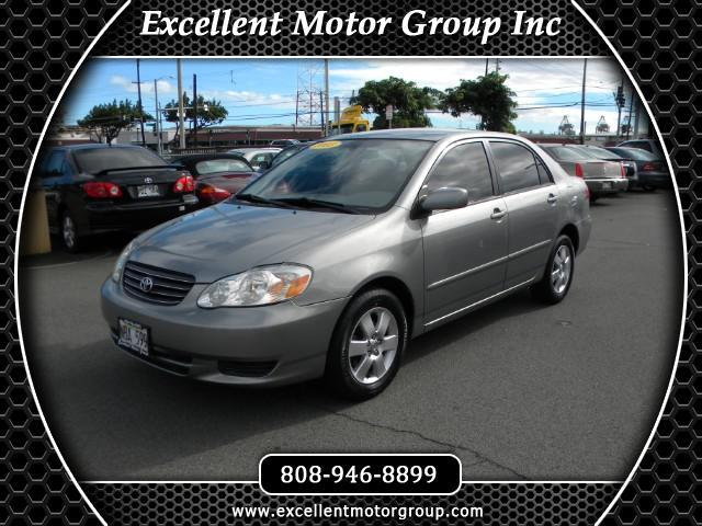 2003 Toyota Corolla LE 4-Speed AT