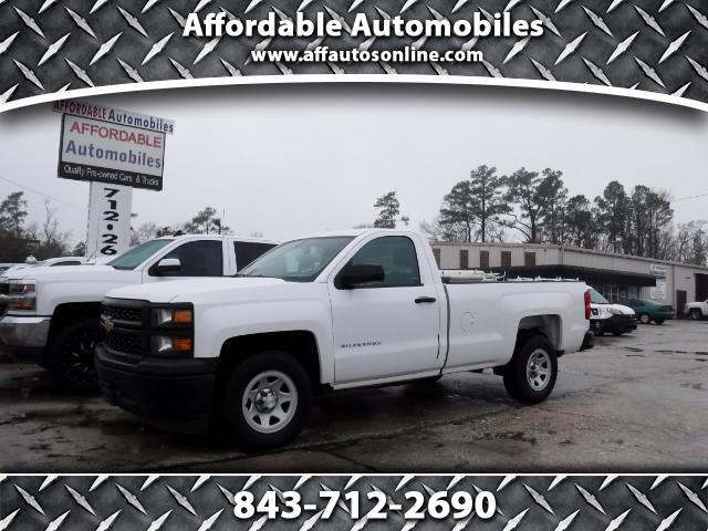 2014 Chevrolet Silverado 1500 Work Truck 1WT Regular Cab Long Box 2WD