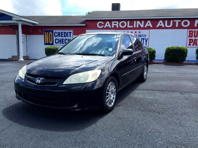 2005 Honda Civic Visit Carolina Auto Mall online at wwwcarolinaautomallnet to see more pictures of