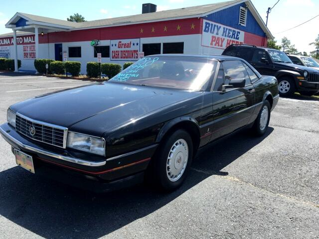 1988 Cadillac Allante Visit Carolina Auto Mall online at wwwcarolinaautomallnet to see more pictu