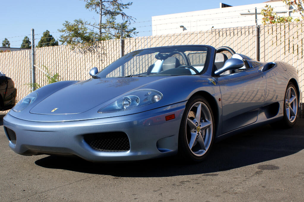 2001 Ferrari 360 Modena Spider 6 Speed Manual