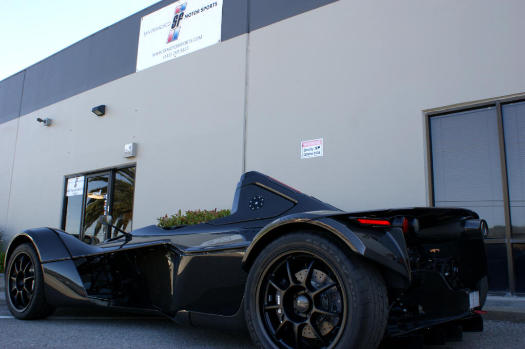 2015 BAC Mono Full Visible Carbon Fibre