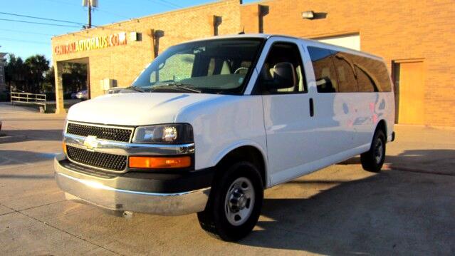 2014 Chevrolet Express LT 3500 Extended 15 Pass
