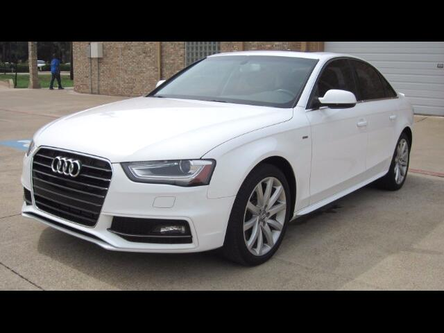 2014 Audi A4 2.0 T Sedan FrontTrak Multitronic