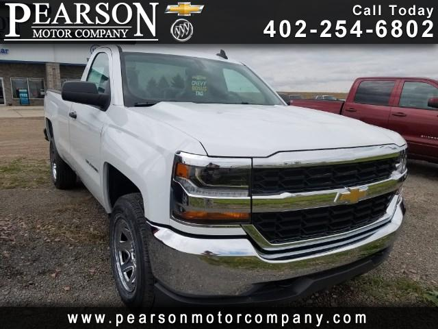 2017 Chevrolet Silverado 1500 Work Truck Long Box 4WD