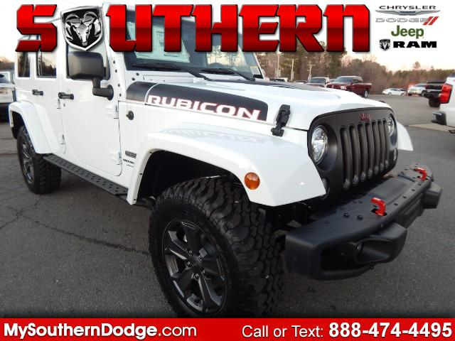 2018 Jeep Wrangler JK Unlimited Rubicon 4WD