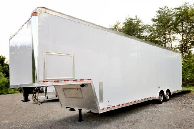 2014 United Trailer 38FT Sprint Car Trailer