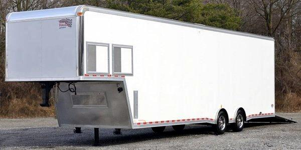 2014 United Trailer 40FT Sprint Car Trailer