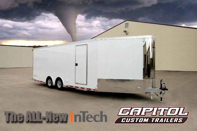 2016 Intech Trailers Custom 22FT Plus 7ft V-nose