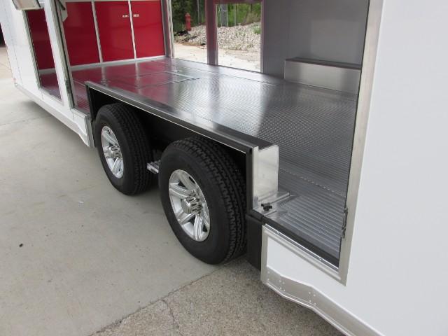 2015 Intech Trailers Custom 26ft Custom Full Escape Door
