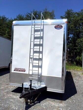2015 United Trailers Custom Trailer 26 Ft Custom Race Trailer