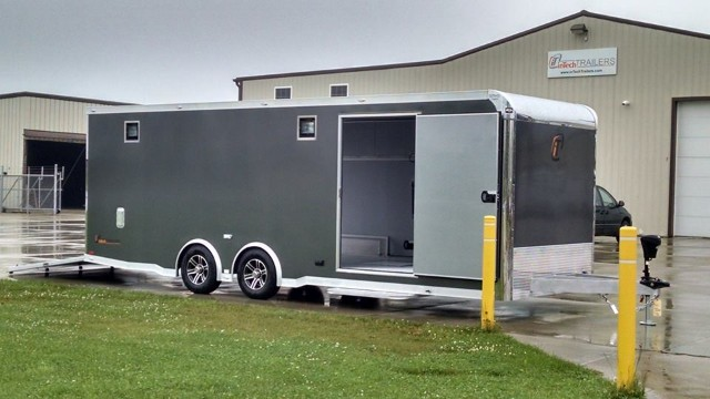 2015 Intech Trailers Icon 24 Ft Custom Aluminum