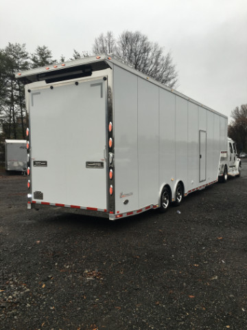 2016 Intech Trailers Gooseneck 38ft Sprint Car Trailer SOLD UNIT