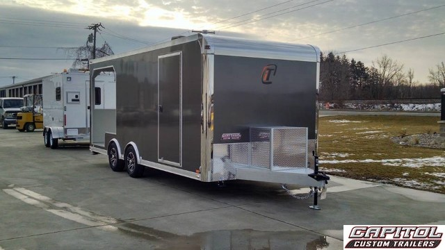 2016 Intech Trailers Icon BBQ CUSTOM ALUMINUM TRAILER