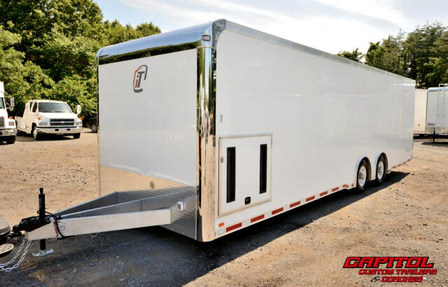2016 Intech Trailers Icon 28FT Custom Aluminum Trailer