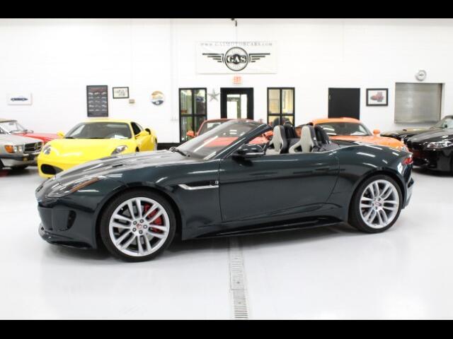 2017 Jaguar F-Type R Convertible AWD