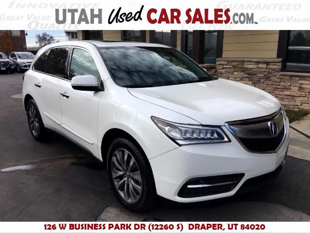 2014 Acura MDX 6-Spd AT w/Tech and Entertainment Package