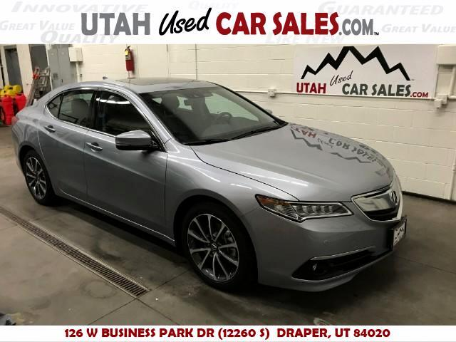 2016 Acura TLX 9-Spd AT w/Advance Package