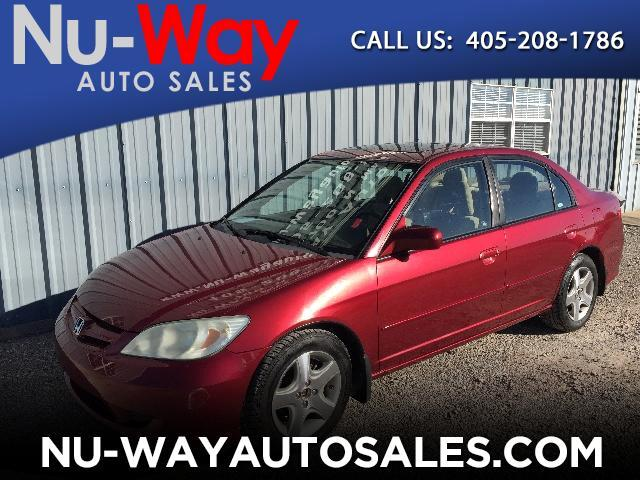 2005 Honda Civic EX Sedan w/ Front Side Airbags