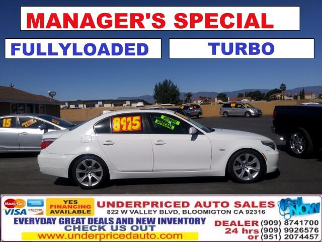2008 BMW 5-Series AUTOMATIC,LOW MILES