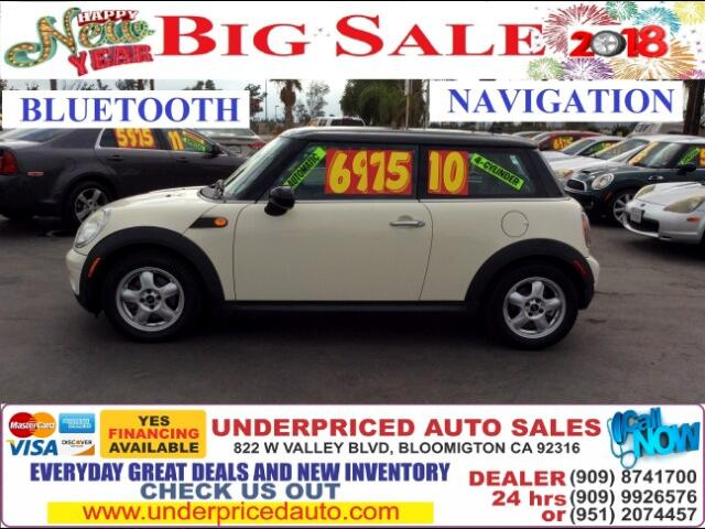 2010 MINI Cooper NAVIGATION,BLUETOOTH AND GAS SAVER!!!!