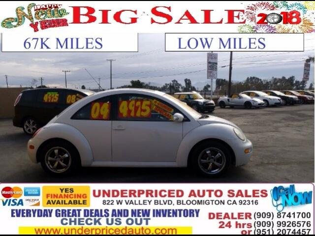 2004 Volkswagen New Beetle 2.0 L ENGINE PLUS SUPER LOW MILES!!!! FOR ONLY $39