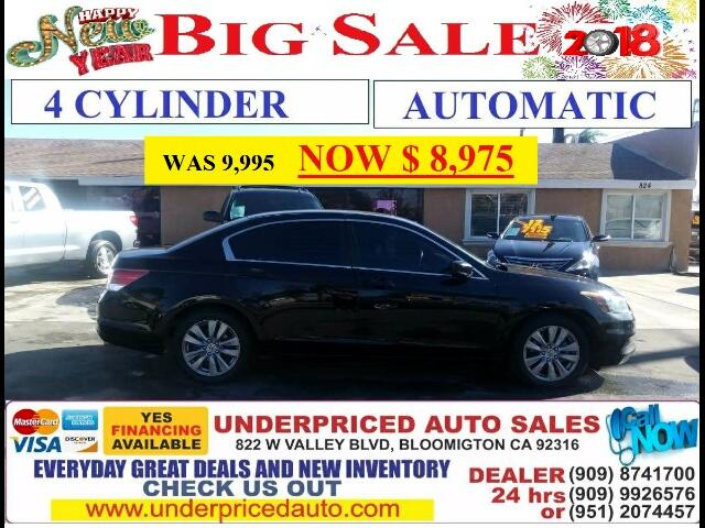 2012 Honda Accord 4 CYL/AUTOMATIC..MANAGER'S SPECIAL!! MUST DRIVE