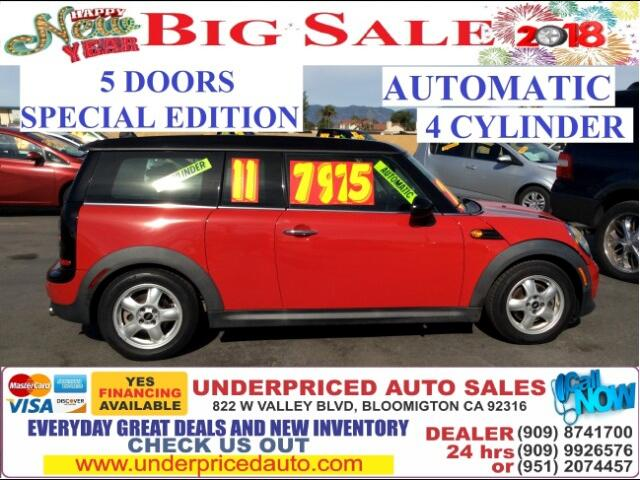 2011 MINI Clubman MOON ROOF+LEATHER+GAS SAVER MUST OWN IT NOW!!!!