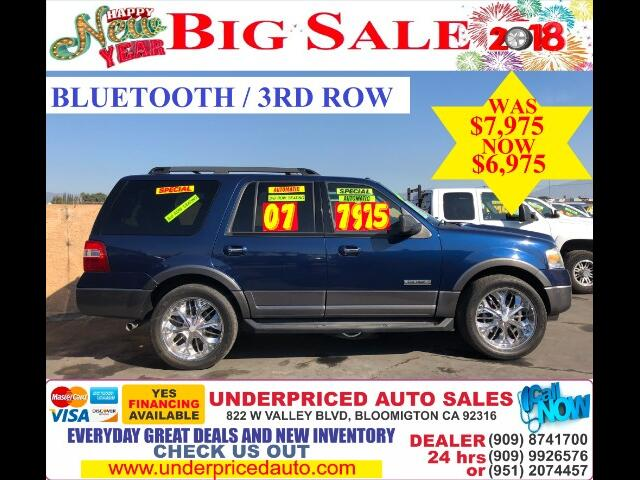 2007 Ford Expedition XLT 2WD PLUS 3RD ROW SEAT!!!!! MUST HAVE