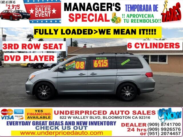2008 Honda Odyssey TOURING LOADED,3RD SEAT,MUST HAVE FOR THE FAMILY!!